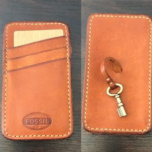 FOSSIL phone and card holder